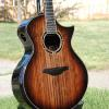 Sinker redwood top with edge burst.  These dark sinker tops are becoming very hard to find!