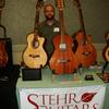 My table at the Healdsburg Guitar Festival 2011